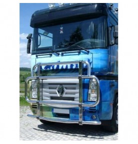 PARE BUFFLE INOX DELUXE POUR RENAULT MAGNUM