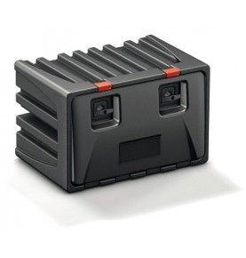 Coffre à outils plastique VISION avec support extincteur