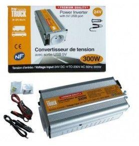 Convertisseur 24V/230V 300W DC/AC prise NF