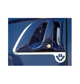 Bavette blanche marquage RENAULT rouge 600X400