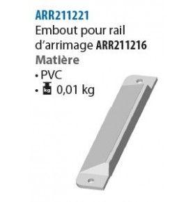 Embout pour rail d'arrimage...