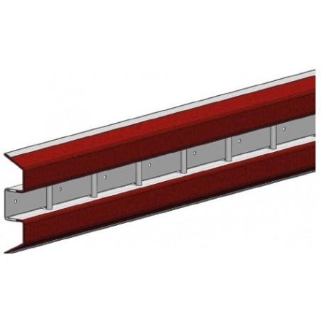 Rails capiton 2 en 1 pour déménageur 4050mm