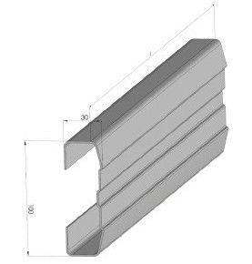 Profil acier galvanisé 3...