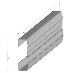 Profil acier galvanisé 7...