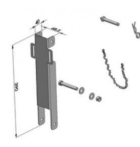 Kit escamotable pour poteau de benne PCY211163 690 mm