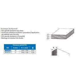 Tablette centrale blanche pour VOLVO FH4