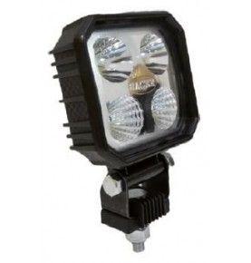 Phare de travail carré 4 LED