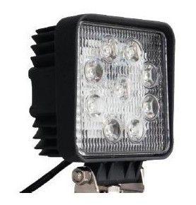Phare de travail carré 9 LED
