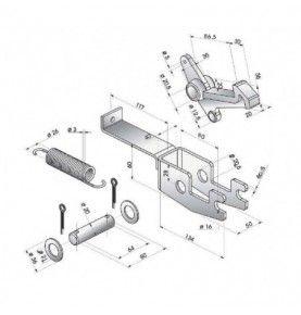 Gyrophare à LEDS - Base Magnétique