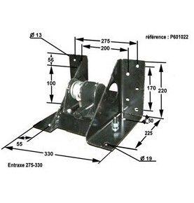 porte roue treuil 8-10 trous