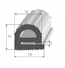 rlx25m epdm gris