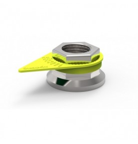 Checkpoint Jaune Fluo 30 mm