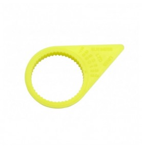 Checkpoint Jaune Fluo 32 mm