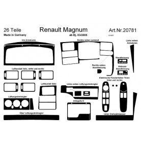 HABILLAGE TABLEAU DE BORD R.MAGNUM RONCE DE NOY DE 03/05 A 08/06 27 PIECES