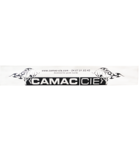 Bavette avec logo Camac Cie (une partie)