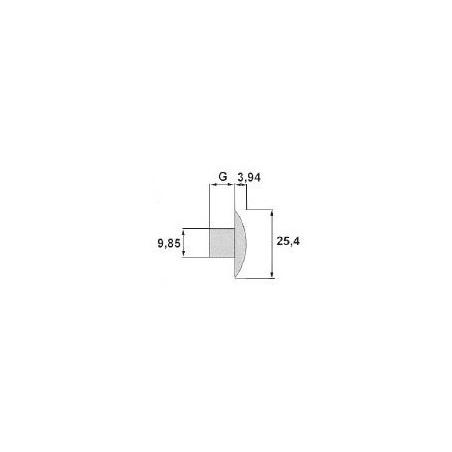 Entourage de phare gauche - DAF XF 106