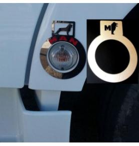 Coin gauche de pare-choc pour VOLVO FH4