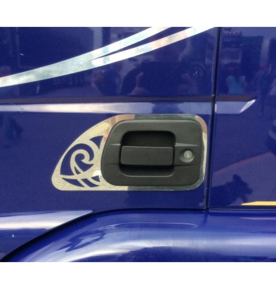 Phare avant gauche antibrouillard chromé - Volvo FH 4
