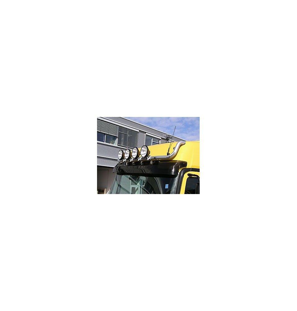 RAMPE DE TOIT TRUX MERCEDES ACTROS MP2  CAB L/LH LISSE MODELE BAS