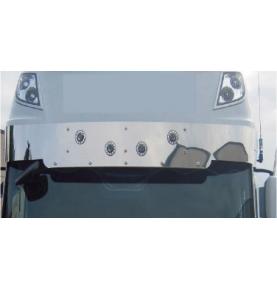 Visière inox pour DAF XF 106 EURO 6