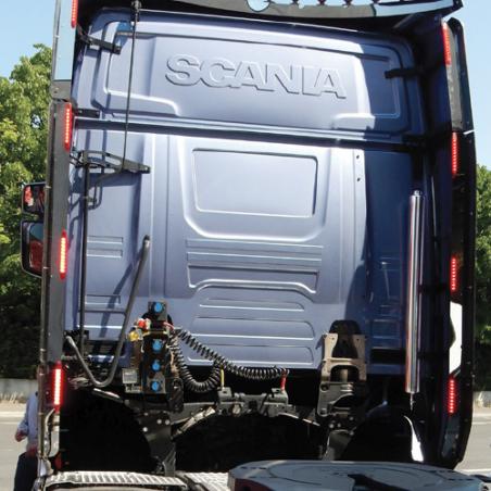 Réservoir d'eau cylindrique pour SCANIA NTG
