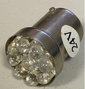 Ampoule 24V 9 LED BA15S...
