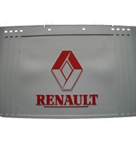 Bavette blanche marquage RENAULT rouge 400 x 300 mm