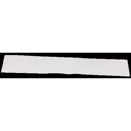 Bavette blanche pour semi sans marquage (une partie)