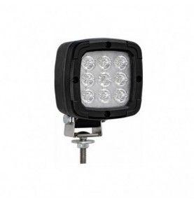 Phare de travail LED noir sur tige