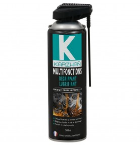 Aérosol multifonctions, dégrippant, lubrifiant