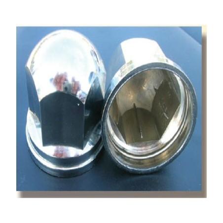 CACHE ECROU PLASTIQUE CHROME D33