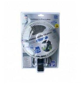 Ventilateur oscillant à pince 2 vitesses 24V 20cm