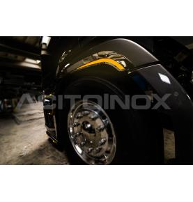 Contour de roue inox...