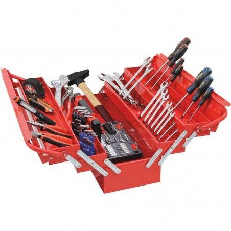 Caisse à outils 100 pcs DRAKKAR
