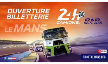 Les 24h du Mans camions auront bien lieu les 25 et 26 septembre 2021