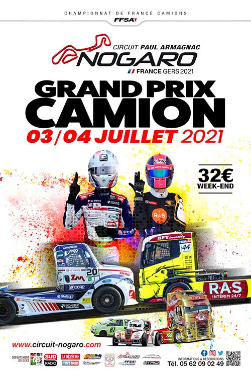 La course camion Nogaro aura bien lieu cette année !