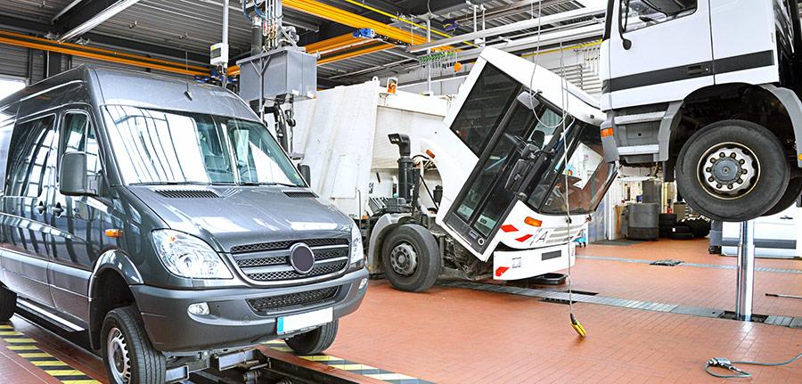 Le contrôle technique des camions en France