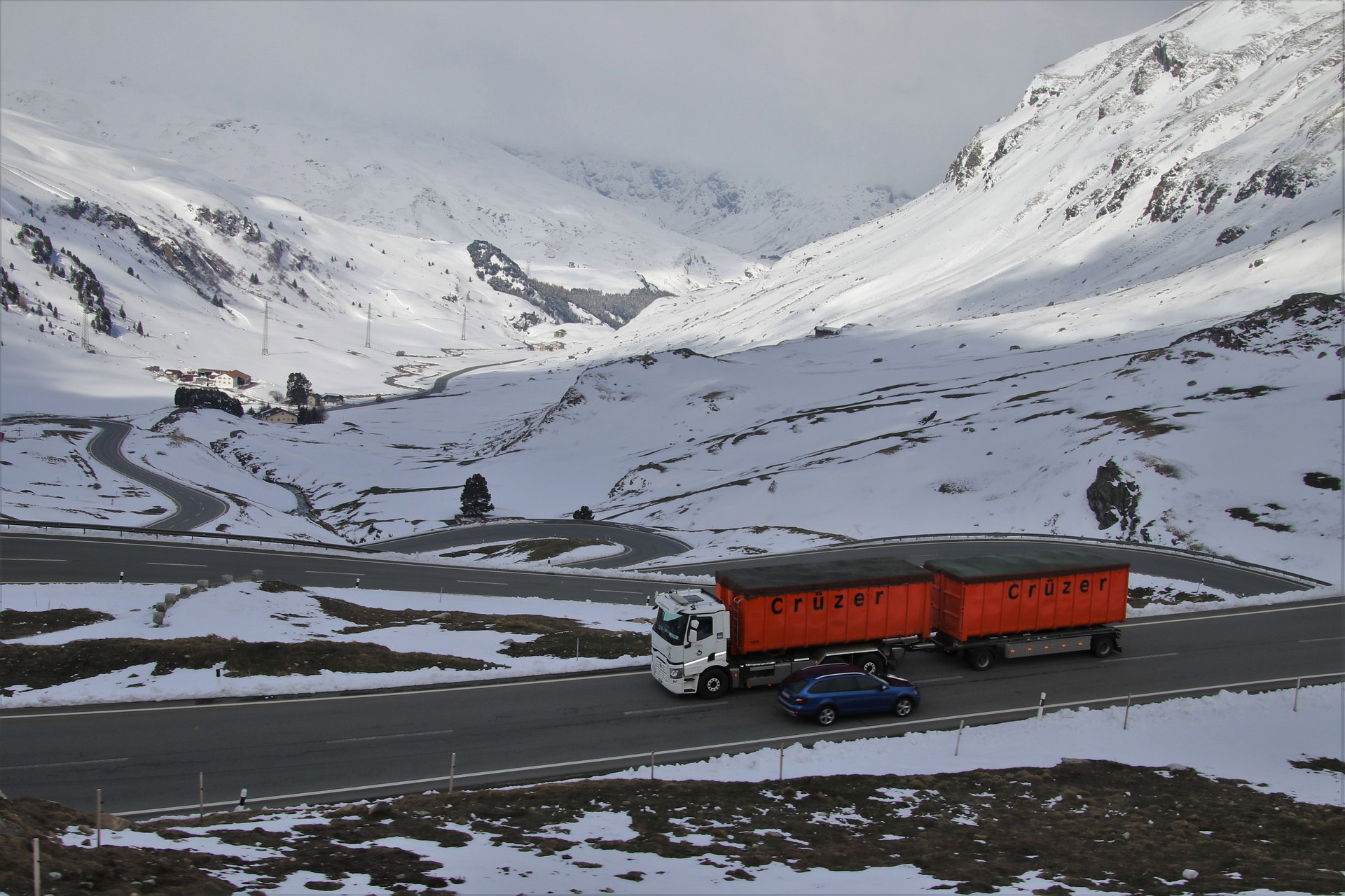 Nouvelle réglementation poids-lourd : l'obligation d'équipements de certains véhicules en période hivernale